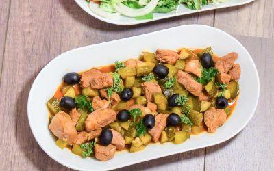 Carne á Portuguesa met een twist