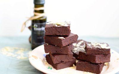 Brownies met olijfolie