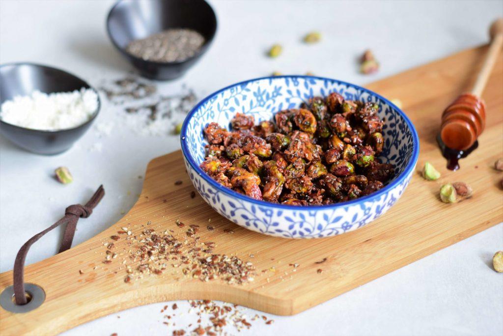 pistache crunchy geroosterd zoet gezond