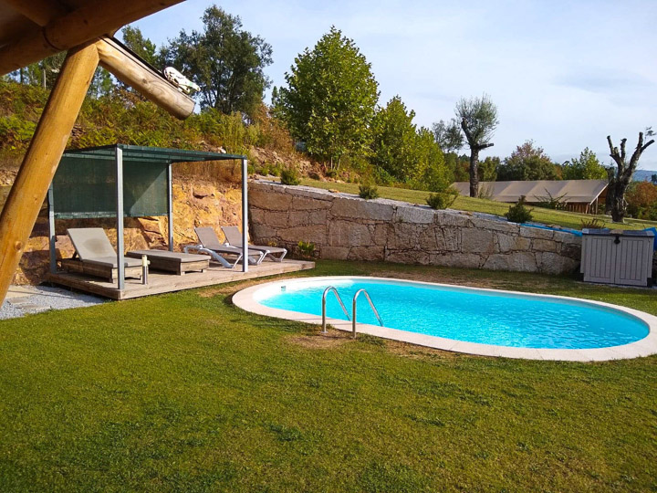 glamping portugal cascalhal zwmbad