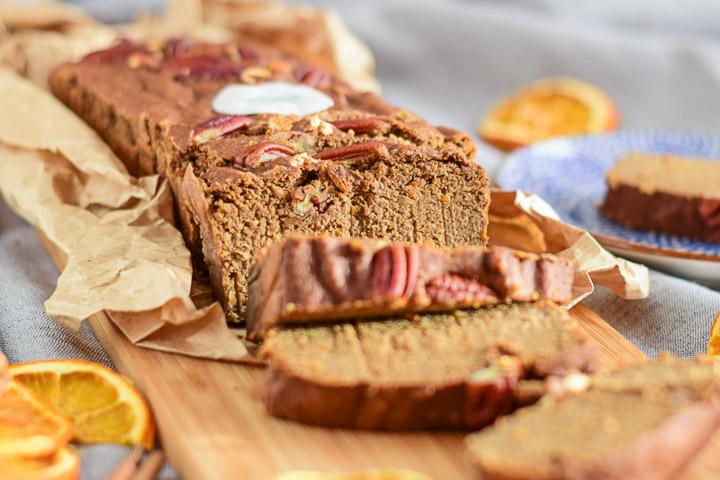 sinaasappelcake met kaneel gezond