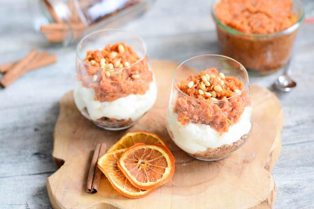 pompoen dessert hüttenkäse-2