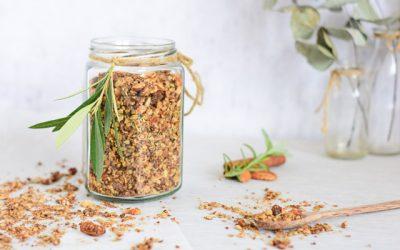 Granola recept met vijgen, rozemarijn en olijfolie
