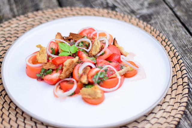 tomaten aardbei salade kookboek review lisboeta