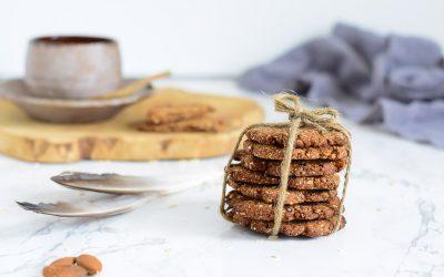 Gezonde koekjes met pruimen zonder suiker en glutenvrij