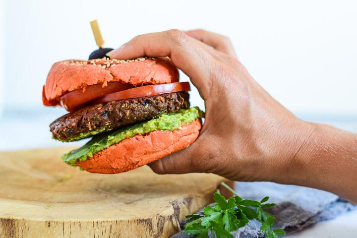 champignonburgers vegan