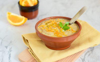 Portugese bloemkoolsoep met sinaasappel