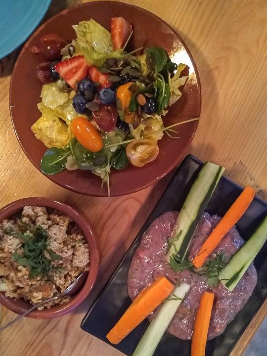 gezond uit eten in Lissabon healthy restaurant