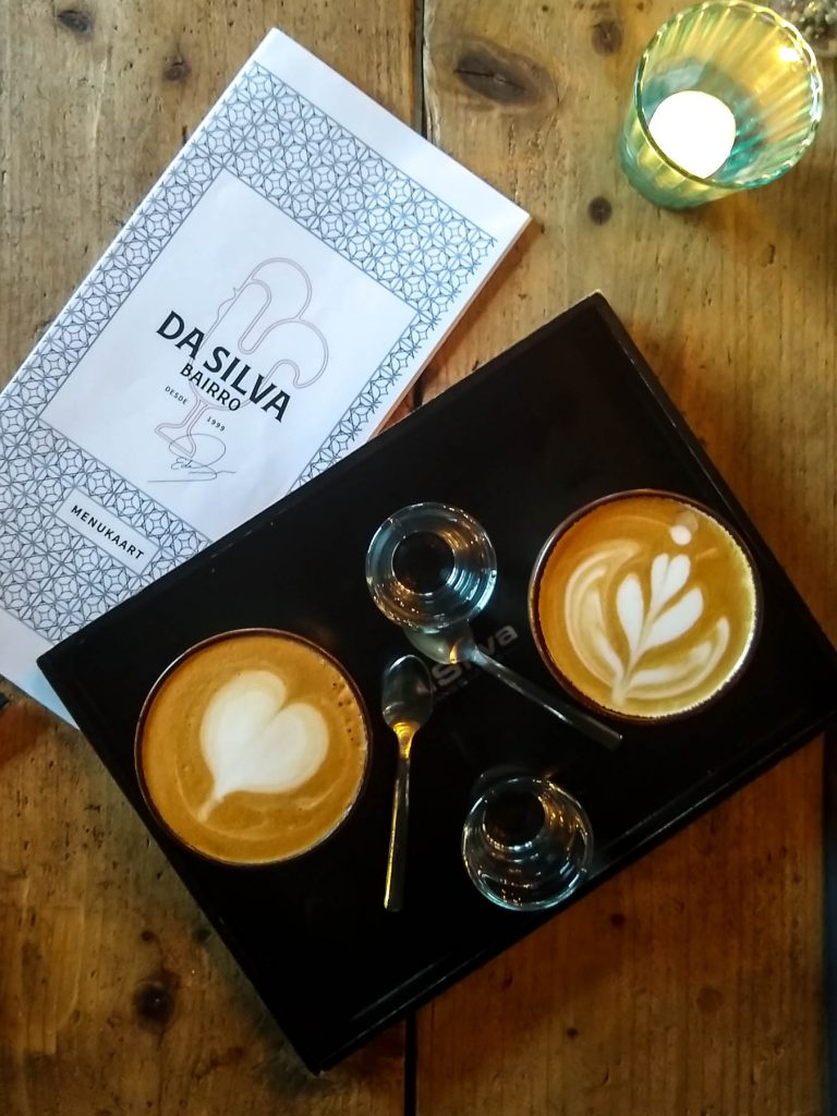 koffie latte art da silva