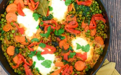 vegetarische Portugese doperwten stoof