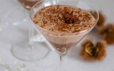 Vegan kerstdessert | Choco- kokos kastanje mousse