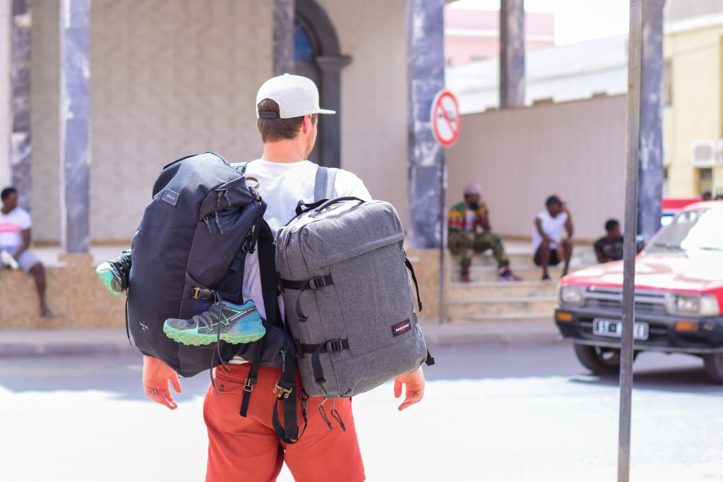 backpacken reizen met alleen handbagage
