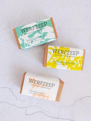 natuurlijke zeep bewust puur