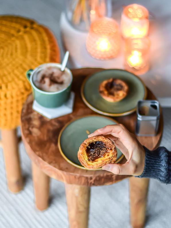 koffie pastel de nata portugal