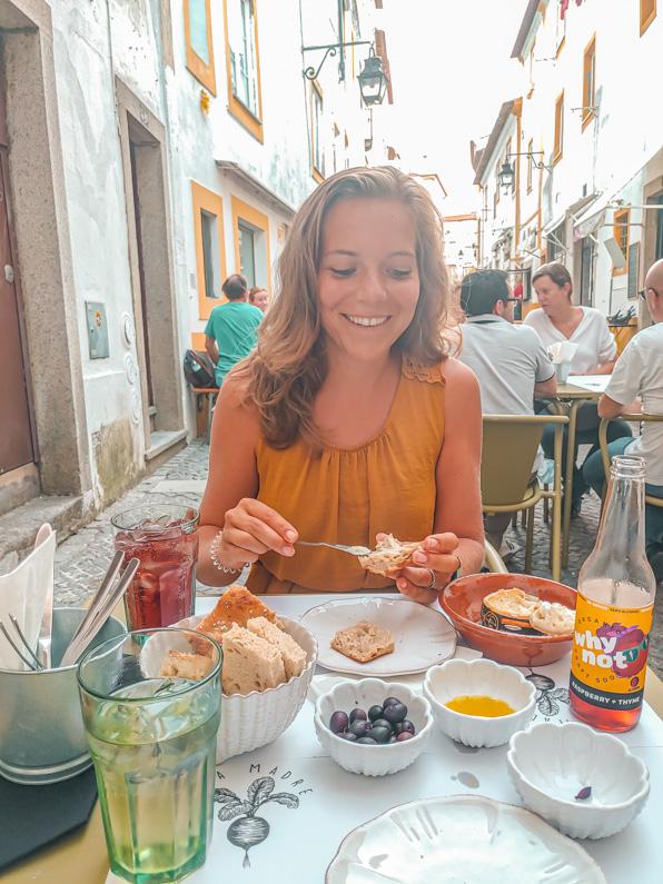 uit eten in Évora portugal