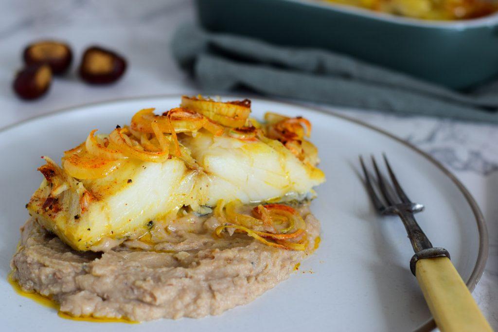 Portugees eten Portugese gerechten bacalhau
