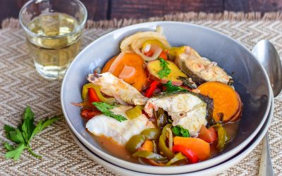 Portugees vispotje: caldeirada de peixe